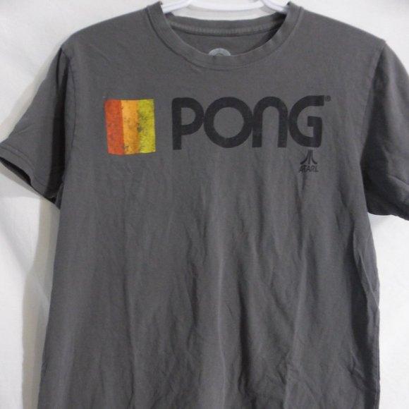 ATARI PONG tee.  The Atari Pong logo on the front